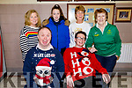 Enjoying the celebrations for the Special Olympics in Cumann Iosaef on Saturday. Front John Savage and Eoin O'Sullivan.<br /> Back l to r: Lorna O'Sullivan, Shauna Harris, Sheila O'Sullivan and Kit Ryan