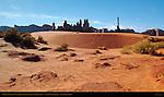 Yei Bi Chei, Totem Pole and Sand Springs, Monument Valley Navajo Tribal Park, Navajo Nation Reservation, Utah/Arizona Border