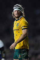 Rob Horne of Australia during the QBE International match between England and Australia at Twickenham Stadium on Saturday 29th November 2014 (Photo by Rob Munro)