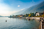 Italy, Lombardia, comunity Tremezzina: district Tremezzo on West Banks of Lake Como | Italien, Lombardei, Gemeinde Tremezzina: Ortsteil Tremezzo am Westufer des Comer Sees