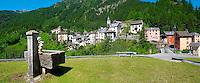 Fusio village, Val Maggiore,  - Vallemaggia , Ticino  Switzerland