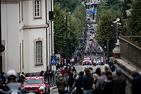 early race moves<br /> <br /> 115th Il Lombardia 2021 (1.UWT)<br /> One day race from Como to Bergamo (ITA/239km)<br /> <br /> ©kramon