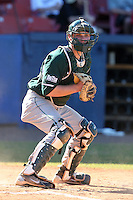 Michigan State Spartans Joel Fisher #32 during a game vs the Akron Zips at Chain of Lakes Park in Winter Haven, Florida;  March 12, 2011.  Michigan State defeated Akron 5-1.  Photo By Mike Janes/Four Seam Images