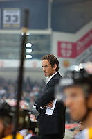 """Switzerland. Lugano. Patrick Fischer. Head coach Hockey Club Lugano. Hockey Club Lugano, often abbreviated to HC Lugano or HCL, is a professional ice hockey club based in Lugano. The ice rink """" La Resega"""" is an arena, primarily used for ice hockey and is the home arena of Hockey Club Lugano. 24.09.13 © 2013 Didier Ruef"""