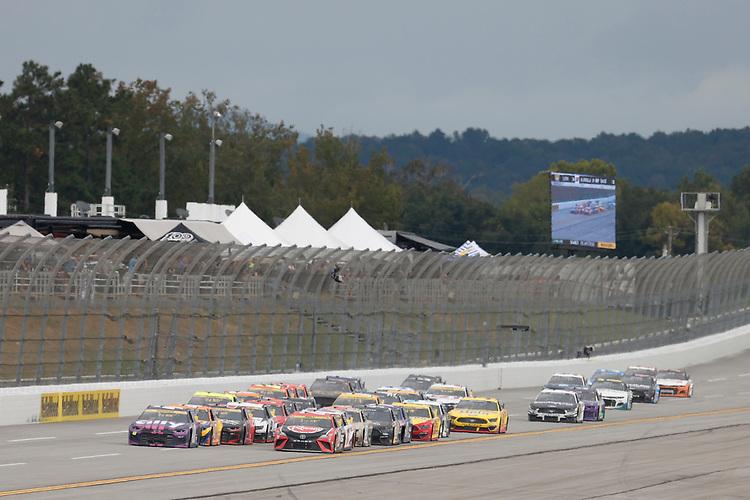 #48: Alex Bowman, Hendrick Motorsports, Chevrolet Camaro Ally, #20: Christopher Bell, Joe Gibbs Racing, Toyota Camry Rheem