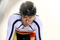 Bradly Knipe competes in the Men Elite Sprint during the 2020 Vantage Elite and U19 Track Cycling National Championships at the Avantidrome in Cambridge, New Zealand on Friday, 24 January 2020. ( Mandatory Photo Credit: Dianne Manson )