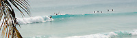 Surfing at Freights , nr Oistens..Barbados , Easter 2010 ..pic copyright Steve Behr / Stockfile
