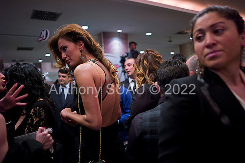 Istanbul, Turkey<br /> March 8, 2011<br /> <br /> The pre-cocktail party for Turkish Radio and Television Corporation (TRT) Music Awards, held for the first time.