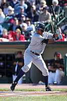 Scranton Wilkes-Barre Yankees outfielder Chris Dickerson #7 during a game against the Rochester Red Wings at Frontier Field on April 9, 2011 in Rochester, New York.  Rochester defeated Scranton 7-6 in twelve innings.  Photo By Mike Janes/Four Seam Images