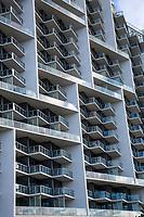 Miami, Florida.  An Ocean-view Condo, with Multiple Balconies, Miami Beach.