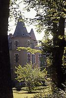 Europe/France/Auvergne/03/Allier/Balaine: Château et arboretum
