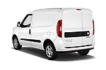 Car pictures of rear three quarter view of 2016 Fiat Doblo Pack 4 Door Cargo Van angular rear