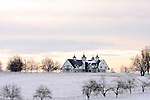 17 January 2010.   Kentucky Stallion Farms. Manchester Farm located behind Keeneland racecourse is a scenic, beautiful farm with white fences, beautiful barns, and breathtaking sunrises, and sunsets.