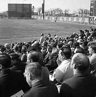 Match des Expos, le 14 avril 1969, <br /> au Parc Jarry