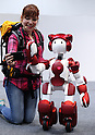 Robot tourist guide Emiew3 being developed by Hitachi
