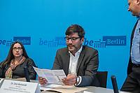 Vorstellung der Berliner Fachstelle gegen Diskriminierung auf dem Wohnungsmarkt<br /> Der Berliner Justizsenator Dr. Dirk Behrendt stellte am Montag den 11. September 2017 gemeinsam mit Dr. Christiane Droste von UrbanPlus und Remzi Uyguner vom Tuerkischen Bund in Berlin-Brandenburg (TBB) die neue Fachstelle vor.<br /> An die Fachstelle koennen sich Buergerinnen und Buerger wenden, die entweder im Bewerbungsprozess um eine Mietwohnung oder auch im Rahmen eines bestehenden Mietverhaeltnisses Diskriminierung zum Beispiel auf Grund ihrer Herkunft oder Religion erfahren haben.<br /> Fuer Familien mit Kindern, Menschen mit nicht-deutsch anmutenden Namen oder Menschen mit Behinderung ist Diskriminierung auf dem Wohnungsmarkt nichts Neues. Um fuer diese Menschen Gleichberechtigung herzustellen hat die Berliner Fachstelle gegen Diskriminierung auf dem Wohnungsmarkt im Sommer 2017 ihre Arbeit aufgenommen. Sie wird in einer Kooperation zwischen dem Buero UrbanPlus und dem Tuerkischen Bund in Berlin-Brandenburg (TBB) betrieben. Die Fachstelle vermittelt u.a. bestehenden Beratungsangebote fuer Betroffene und bietet Vernetzungs-, Fortbildungs- und Qualifizierungsangebote fuer Beratungsstellen und Wohnungsanbieter.<br /> Im Bild vlnr.: Dr. Christiane Droste, UrbanPlus; Dr. Dirk Behrendt, Senator fuer Justiz, Verbraucherschutz und Antidiskriminierung (Buendnis 90/Gruene) und Remzi Uyguner Tuerkischer Bund in Berlin-Brandenburg (TBB).<br /> 11.9.2017, Berlin<br /> Copyright: Christian-Ditsch.de<br /> [Inhaltsveraendernde Manipulation des Fotos nur nach ausdruecklicher Genehmigung des Fotografen. Vereinbarungen ueber Abtretung von Persoenlichkeitsrechten/Model Release der abgebildeten Person/Personen liegen nicht vor. NO MODEL RELEASE! Nur fuer Redaktionelle Zwecke. Don't publish without copyright Christian-Ditsch.de, Veroeffentlichung nur mit Fotografennennung, sowie gegen Honorar, MwSt. und Beleg. Konto: I N G - D i B a, IBAN DE58500105175400192269, BIC INGDDEFFXXX, Kontakt: post@c
