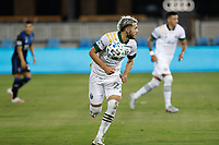 SAN JOSE, CA - SEPTEMBER 19: Cristhian Paredes #22 of the Portland Timbers during a game between Portland Timbers and San Jose Earthquakes at Earthquakes Stadium on September 19, 2020 in San Jose, California.