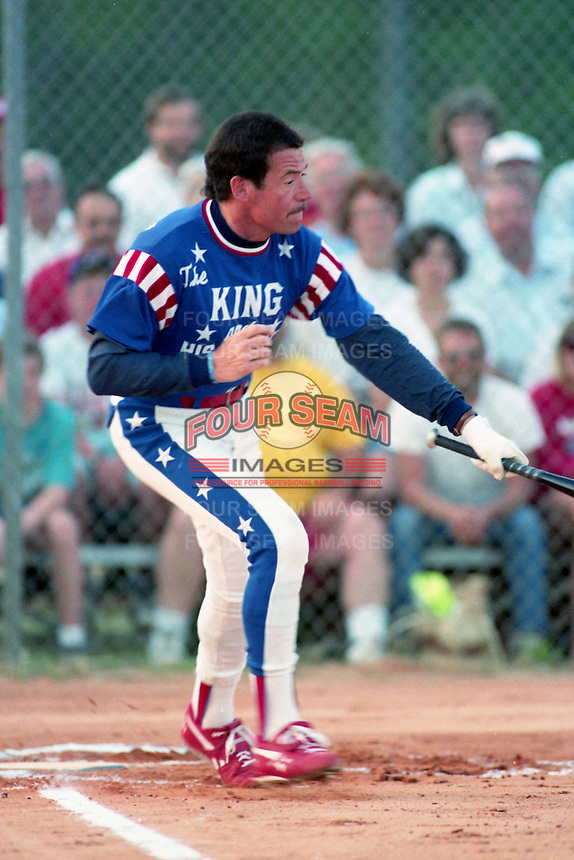 King and his Court Rich Hoppe at bat circa 1993.  (MJA/Four Seam Images)