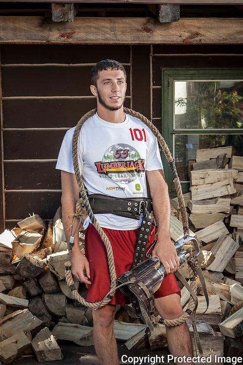 2012 Lumberjack World Championships in Hayward, Wisconsin