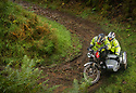 06/10/18<br /> <br /> Matt Little & Richard Court, Ariel.<br /> <br /> After battling hours of heavy rain, competitors slither up a hill known as the corkscrew in near Kettleshulme in the Cheshire Peak District National Park. Hundreds of other cars and motorcycles took part in today's Edinburgh Trial. The Motorcyling Club's 94th annual long distance navigation trial started near Tamworth at midnight and finishes this afternoon near Buxton. The original trial ran from London to Edinburgh.<br /> <br /> All Rights Reserved: F Stop Press Ltd. +44(0)1335 344240  www.fstoppress.com www.rkpphotography.co.uk