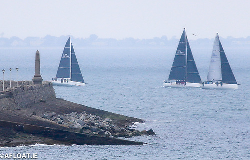 The 64-mile course saw the ISORA fleet head out of Dublin Bay at 8 am