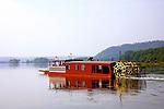Millersburg Ferry crossing the Susquehanna River, Pennsylvania