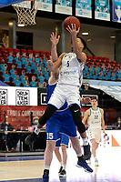 27-03-2021: Basketbal: Donar Groningen v Den Helder Suns: Groningen score  van Donar speler Leon Williams