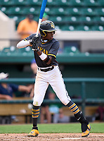 Lakewood Spartans Torry Jones (21) during the 42nd Annual FACA All-Star Baseball Classic on June 6, 2021 at Joker Marchant Stadium in Lakeland, Florida.  (Mike Janes/Four Seam Images)