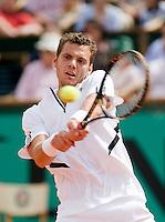 25-5-08, France,Paris, Tennis, Roland Garros, Paul-Henry Mathieu
