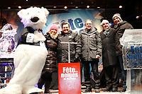 le Maire Denis Coderre lors de La fete des neiges 2015<br /> <br /> PHOTO :  Agence Quebec Presse