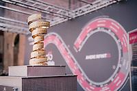 il Trofeo Senza Fine at the race start<br /> <br /> stage 13 Ferrara - Nervesa della Battaglia (180km)<br /> 101th Giro d'Italia 2018