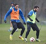 Bilel Mohsni and Richard Foster