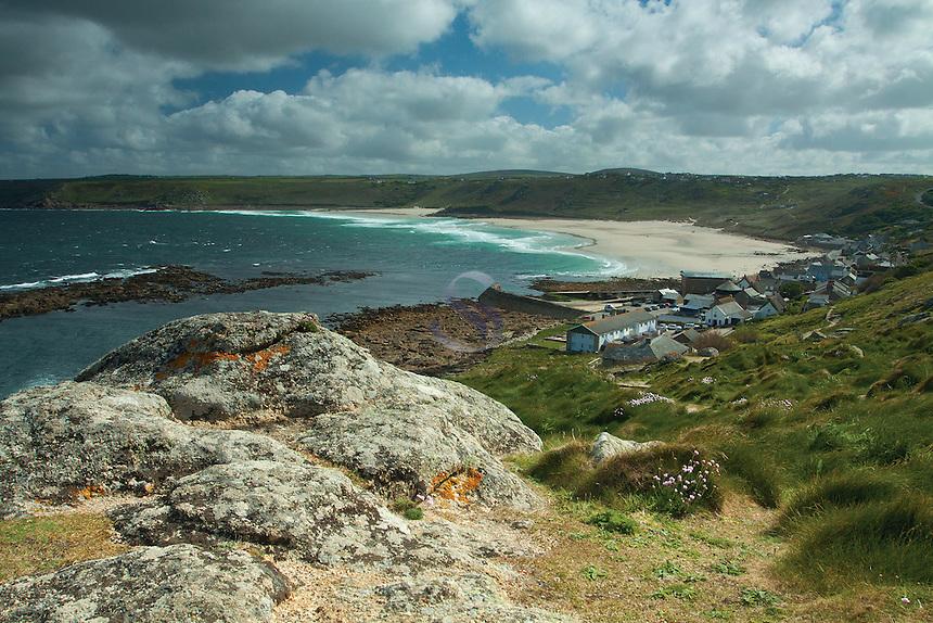 Whitesand Bay and Sennen Cove, Cornwall