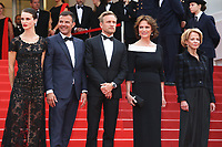 MARINE VACTH, DIRECTOR FRANCOIS OZON, JEREMIE RENIER AND JACQUELINE BISSET - RED CARPET OF THE FILM 'L'AMANT DOUBLE' AT THE 70TH FESTIVAL OF CANNES 2017