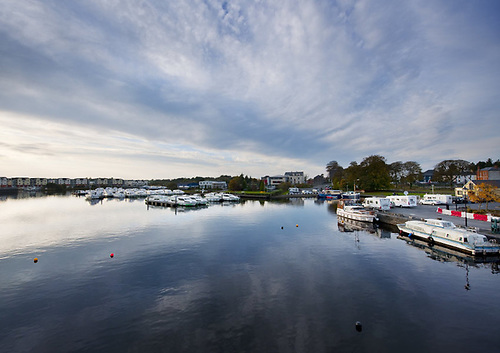 File image of moorings at Carrick-on-Shannon