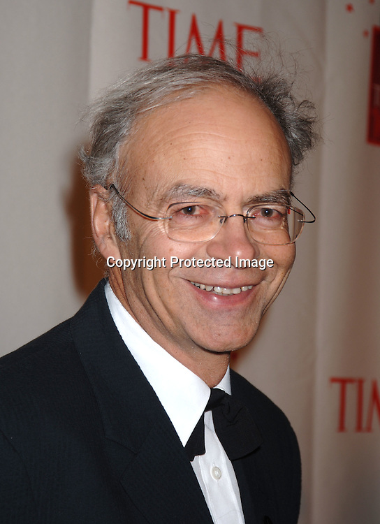 Peter Singer ..at Time Magazine's 100 Most Influential People ..Dinner on May 8, 2006 at Jazz at Lincoln Center at The Time Warner Center. ..Robin Platzer, Twin Images