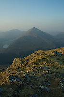 Beinn an Lochan at dawn from the summit of Binnein an Fhidhlier, Arrochar Alps, Argyll & Bute<br /> <br /> Copyright www.scottishhorizons.co.uk/Keith Fergus 2011 All Rights Reserved