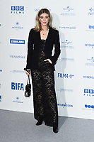 Honor Swinton Byrne<br /> arriving for the British Independent Film Awards 2019 at Old Billingsgate, London.<br /> <br /> ©Ash Knotek  D3541 01/12/2019