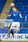 St Johnstone v St Mirren…27.10.18…   McDiarmid Park    SPFL<br />Liam Craig battles with Matty Willock<br />Picture by Graeme Hart. <br />Copyright Perthshire Picture Agency<br />Tel: 01738 623350  Mobile: 07990 594431