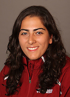 STANFORD, CA - OCTOBER 9:  Elizabeth Minoofar of the Stanford Cardinal during track and field picture day on October 9, 2009 in Stanford, California.