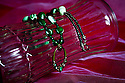 AJ ALEXANDER/APA - Jewelery- Hand Made Glasses/Readers Holder.<br /> Photo by AJ ALEXANDER