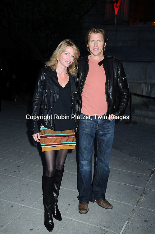 Ann and Denis Learyarriving at The Vanity Fair Tribeca Film Festival Party on April 20, 2010 at The State Supreme Courthouse in New York City.