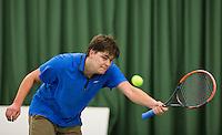 Rotterdam, Netherlands, Januari 24, 2016,  ABNAMROWTT Supermatch, Maurits Post (NED)<br /> Photo: Tennisimages/Henk Koster