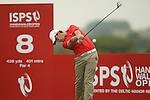 Tommy Fleetwood from England drives at the 8th during the 2nd round of the ISPS Handa Wales Open 2012...01.06.12.©Steve Pope