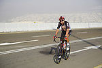 Thomas De Gendt (BEL) Lotto Soudal on the final climb of Stage 3 of the 2021 UAE Tour running 166km from Al Ain to Jebel Hafeet, Abu Dhabi, UAE. 23rd February 2021.  <br /> Picture: Eoin Clarke | Cyclefile<br /> <br /> All photos usage must carry mandatory copyright credit (© Cyclefile | Eoin Clarke)