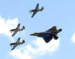 Gathering of Mustangs and Legends at Rickenbacker Air National Guard Base..September 2007