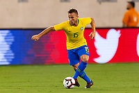 East Rutherford, NJ - Friday September 07, 2018: The men's national teams of the United States (USA) and Brazil (BRA) played an international friendly at MetLife Stadium.