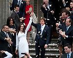 Paul McCartney wedding to Nancy Shevell at Westminster Registry Office in Marylebone Road, London.today 9.10.11.....Pic by Gavin Rodgers/Pixel 8000 Ltd