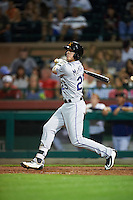 Salt River Rafters Ryan McMahon (25), of the Colorado Rockies organization, during a game against the Scottsdale Scorpions on October 12, 2016 at Scottsdale Stadium in Scottsdale, Arizona.  Salt River defeated Scottsdale 6-4.  (Mike Janes/Four Seam Images)