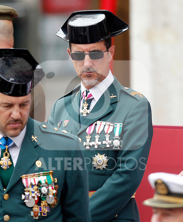 Civil Guard Official during a military parade marking the Armed Forces Day on June 2, 2012 in Valladolid.(ALTERPHOTOS/Acero)